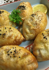 ウズベキスタン♡さっくりカボチャのサモサ