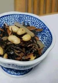 豆料理:あると便利な常備菜!ひじき豆