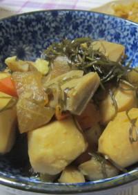伝承料理 糸昆布と根菜の煮物