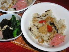 簡単稲荷寿司