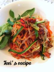 ダイエット白滝麺★和風菜アーリオオーリオの写真