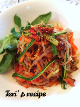 ダイエット白滝麺★和風菜アーリオオーリオ