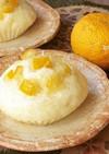 ホットケーキミックス柚子蒸しパン