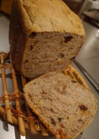 HBで作るライ麦と全粒粉の食パン
