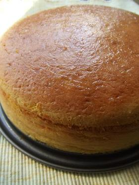 かぼちゃのスフレチーズケーキ