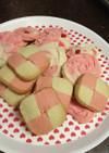バレンタイン用のバタークッキー(覚書用)