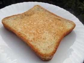 おひとりさまのココナッツオイルでトースト