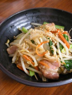 韓国だしダシダを使った美味しい野菜炒め♪