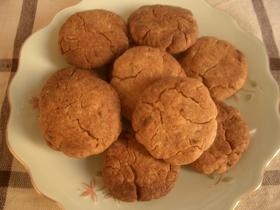 さくっとあずきクッキー