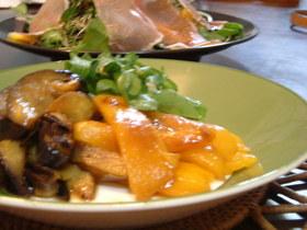 焼き野菜のカレーマリネ