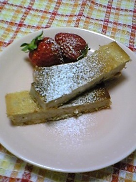 ☆ストロベリー  チーズケーキ♪