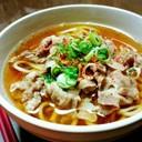 豚バラ&麺つゆで美味し~い♡肉うどん♡