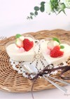 簡単♡ふんわ〜り♡ホワイトチョコムース
