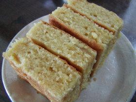 ゆずのバターケーキ