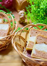 ボーダー♡マーブル♡食パン