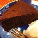 炊飯器で作る簡単ビターチョコケーキ