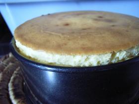 我が家のおやつ!ベークドチーズケーキ♡