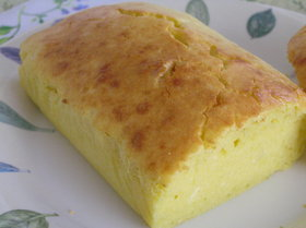 豆腐入りパウンドケーキ