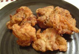 ☆新玉ねぎと豚肉のオイマヨ風味の天ぷら☆