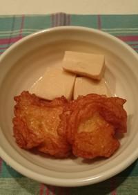 玉ねぎ天と高野豆腐の含め煮★