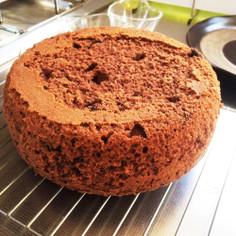 炊飯器・HMで簡単♪チョコレートケーキ