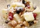節分豆(炒り大豆)のヨーグルトデザート