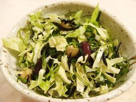 海草のサラダ