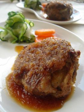 牛肉&ポテトのはさみ焼きハンバーグ