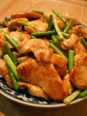 鶏のスタミナ照り焼き