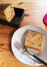 栗とクリームチーズのパウンドケーキ