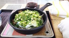 牡蠣の山芋とろろ焼き蒸し