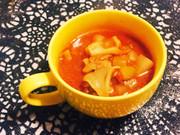 ダイエットに◎コロコロ大根のトマトスープの写真