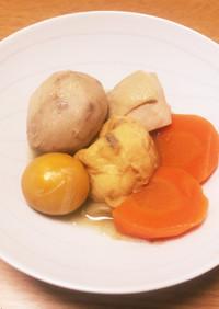 コロコロ楽しい!里芋ときんかんの田舎煮