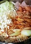 キムチ鍋♡