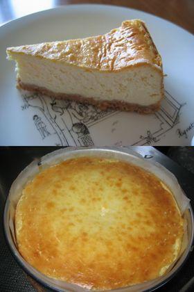 混ぜるだけ♪~簡単ベイクドチーズケーキ♪