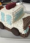 立体 車 ケーキ パトカー 救急車
