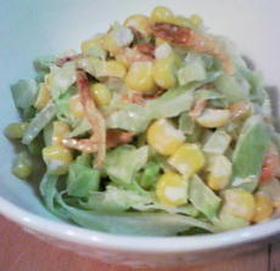 桜海老とキャベツのサラダ