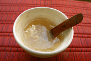 風邪や下痢に☆片栗粉で蜂蜜りんご生姜葛湯の写真