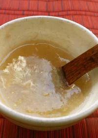 風邪や下痢に☆片栗粉で蜂蜜りんご生姜葛湯