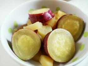 炊飯器で簡単!さつまいものリンゴ煮