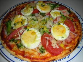 りびあん風v(≧∇≦)v オリジナルピザ