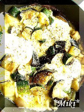 野菜とカマンベールのあつあつグリル♪