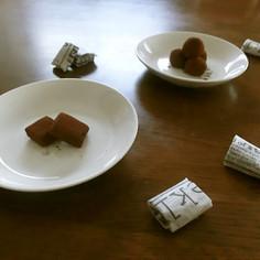 大量生産♪簡単美味♡フルーティー生チョコ