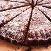 チョコレート味のショートブレッド