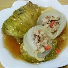 ロール白菜★高野豆腐でダイエット!