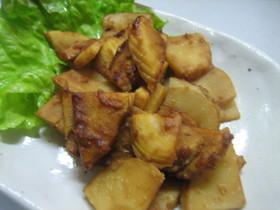 母さんの味、筍の油味噌炒め。