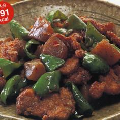 豚肉とこんにゃくのピリ辛炒め