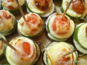 野菜のマヨチーズミニ串焼き♪