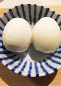 余熱で簡単♪ゆで卵の作り方