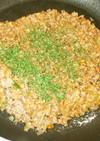 ひき肉味噌そぼろ♪キャベツ・大根・白菜と